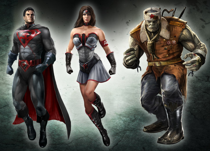 Injustice superman concept art