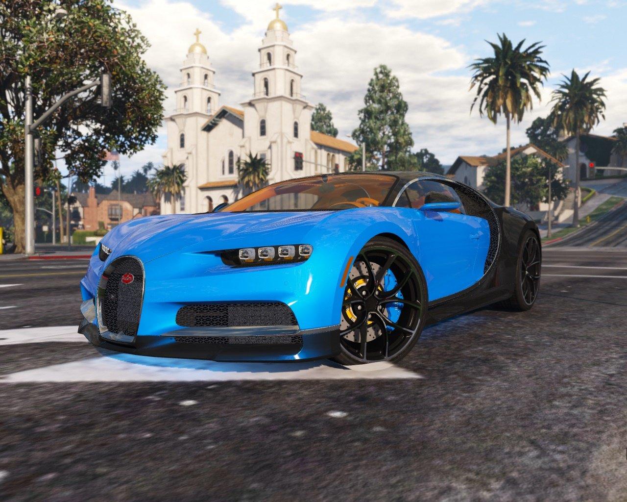 """Grand Theft Auto 5 """"2017 Bugatti Chiron (Retextured) [Add ..."""