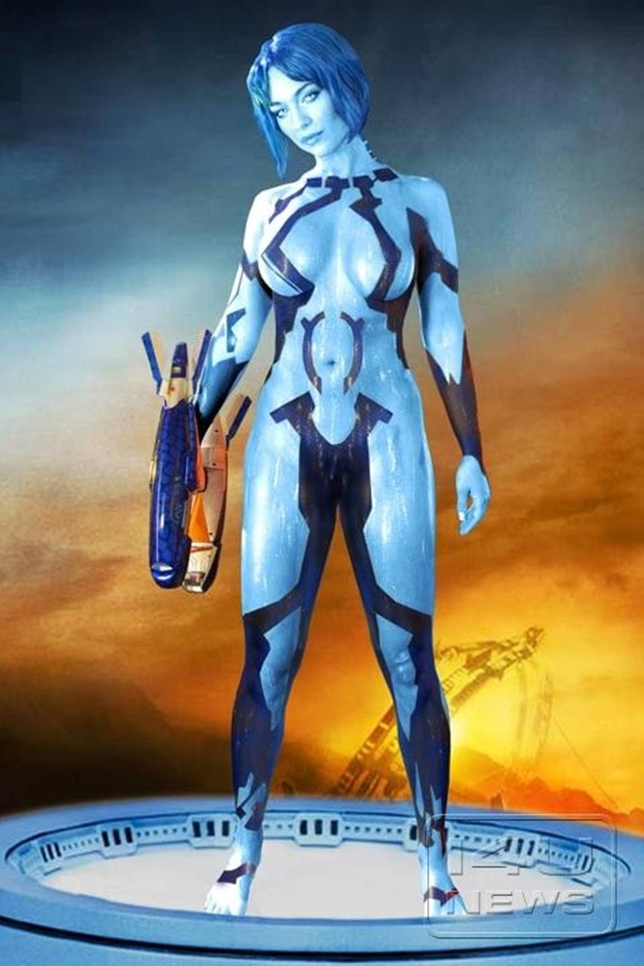 Cortana de halo 4 xxx sexy women