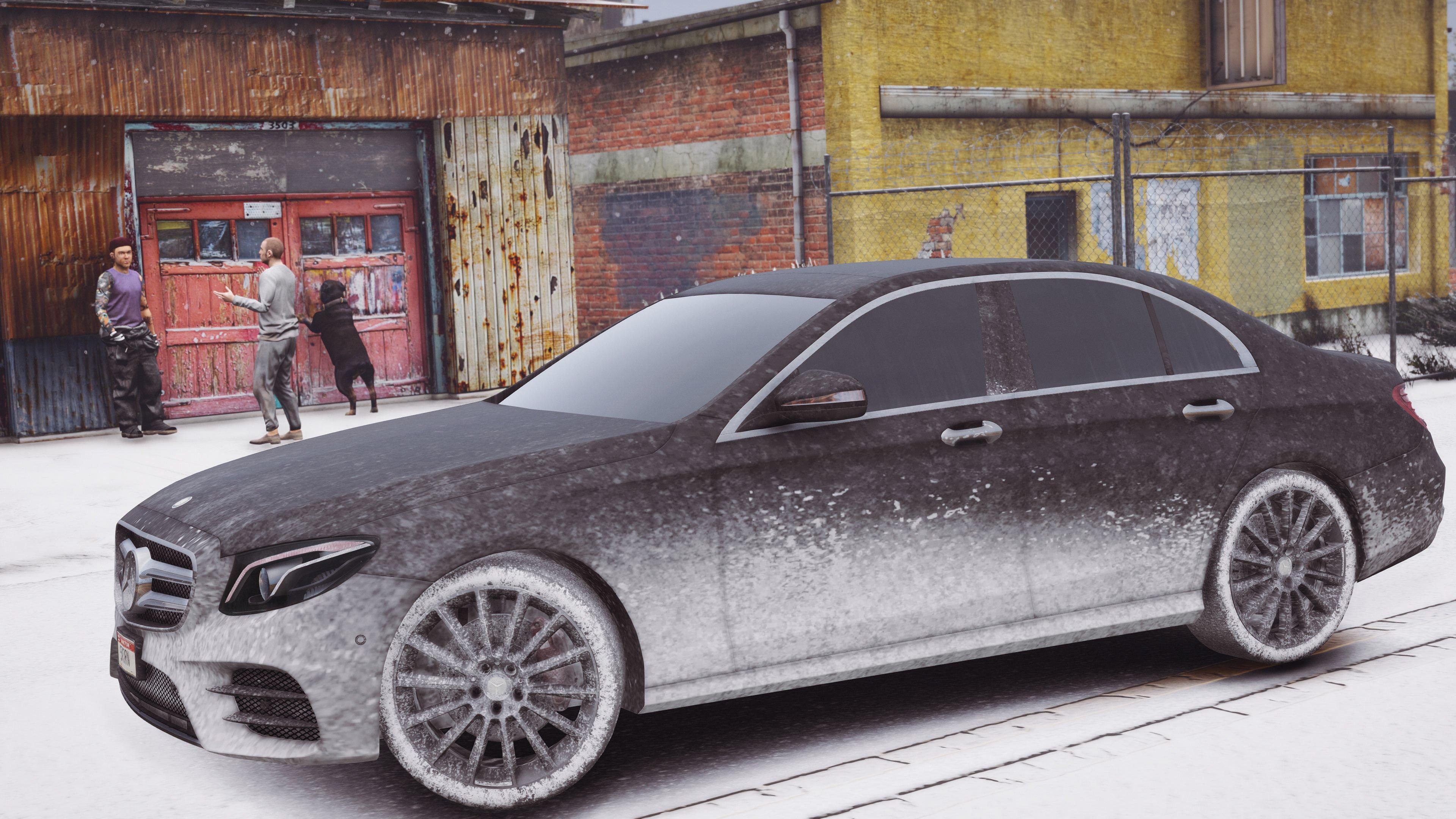 "Grand Theft Auto 5 ""2017 Mercedes-Benz E400 W213 Add-On / Replace / HD"" - Файлы - патч, демо, demo, моды, дополнение, русификато"