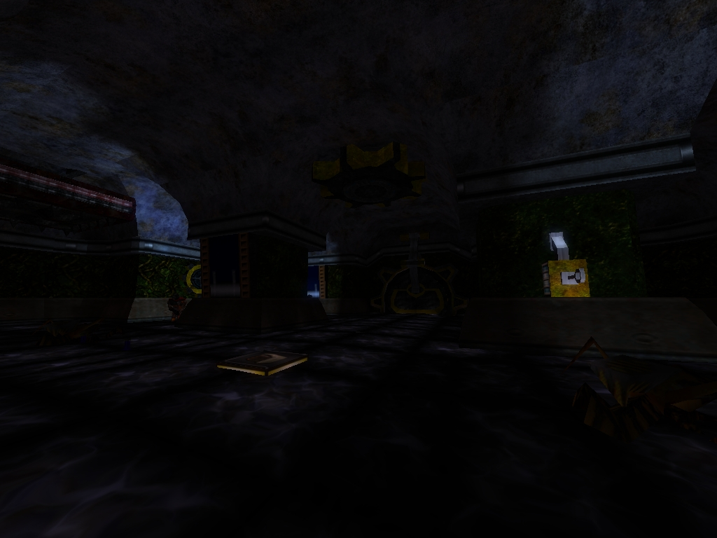 Clockwork City в Quake 2. Flooded Halls, часть 1