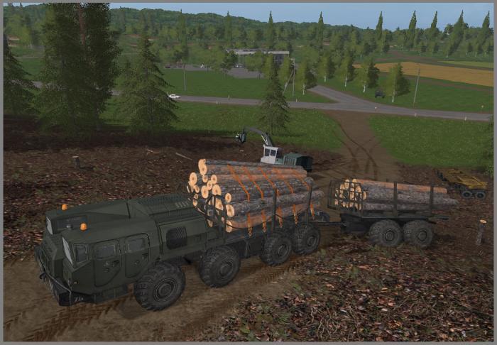 Скачать бесплатно игру лесовозы симулятор