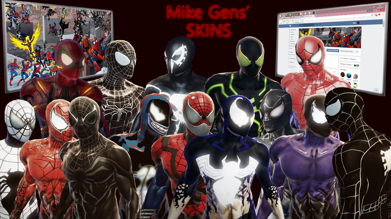 Mike Gens' Skins - Amazing Spider-Man, the Mike Gens, Mike Gens' Skins, TASM, Скин