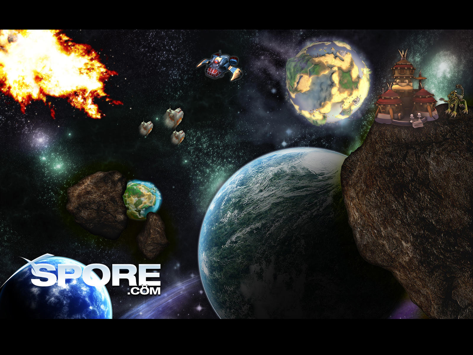Ответы Как сделать свою планету в Spore? 72