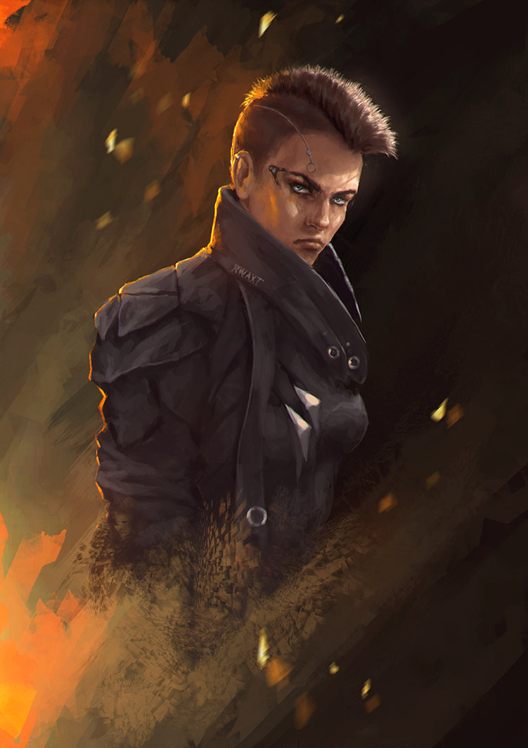 ryan_wright_by_cyberaeon-db1fcku.jpg - Deus Ex: Mankind Divided adam jensen, jensen