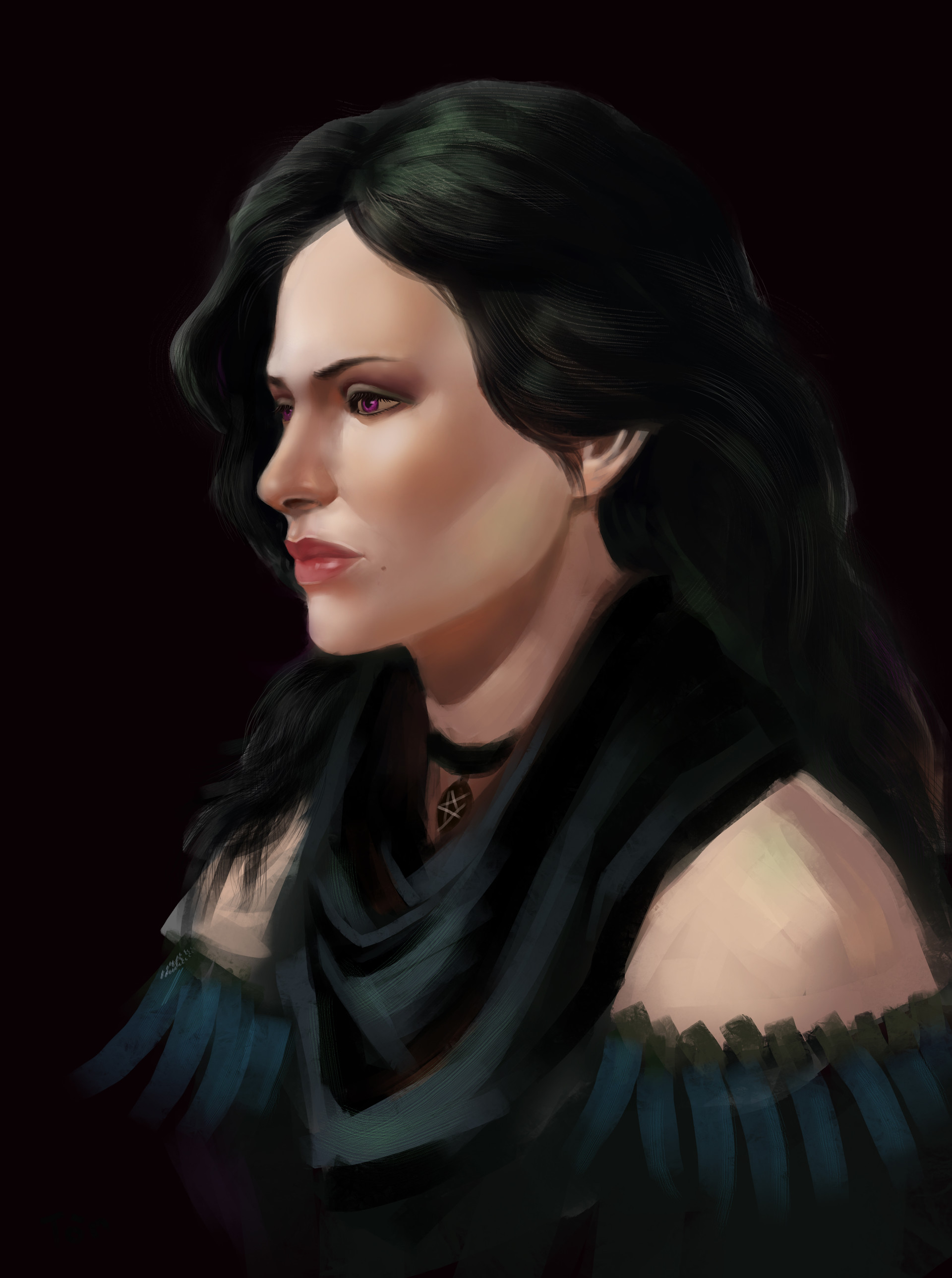 toan-do-viet-yen.jpg - Witcher 3: Wild Hunt, the Yennefer, Yennefer z Vengerbergu, Йеннифэр