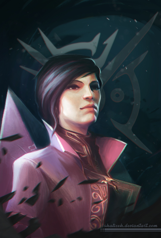the_empress_by_shalizeh-dap0p4w.jpg - Dishonored 2 Emily Kaldwin