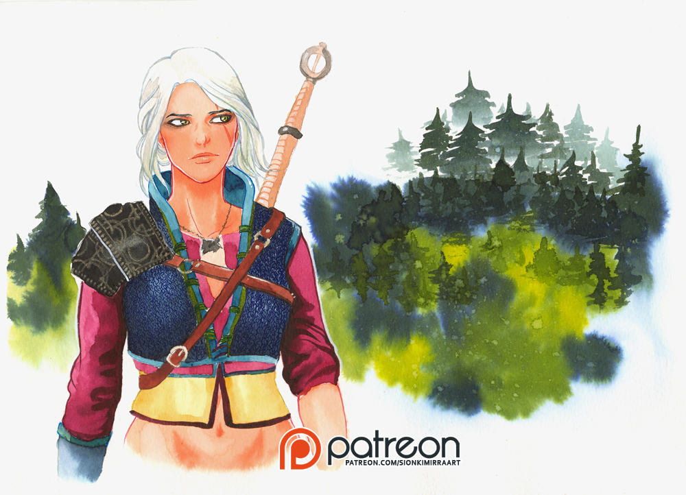 Цири - Witcher 3: Wild Hunt, the Cirilla, Cirilla Fiona Elen Riannon, Персонаж