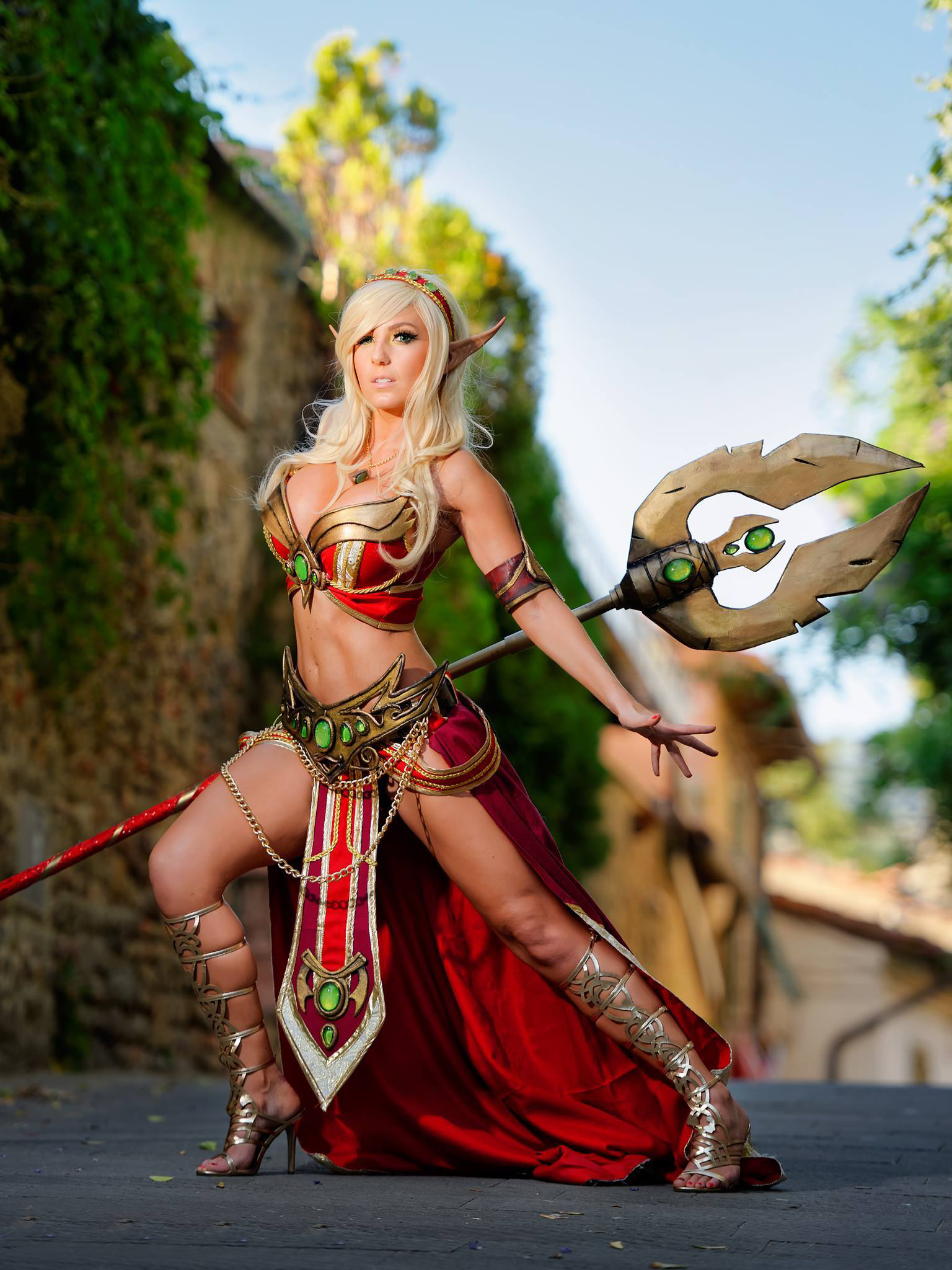 Blood elf topless porn movie