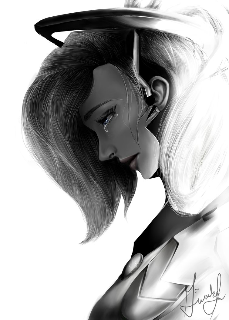 mercy__overwatch__by_gwiazdala-db946yb.png - Overwatch mercy