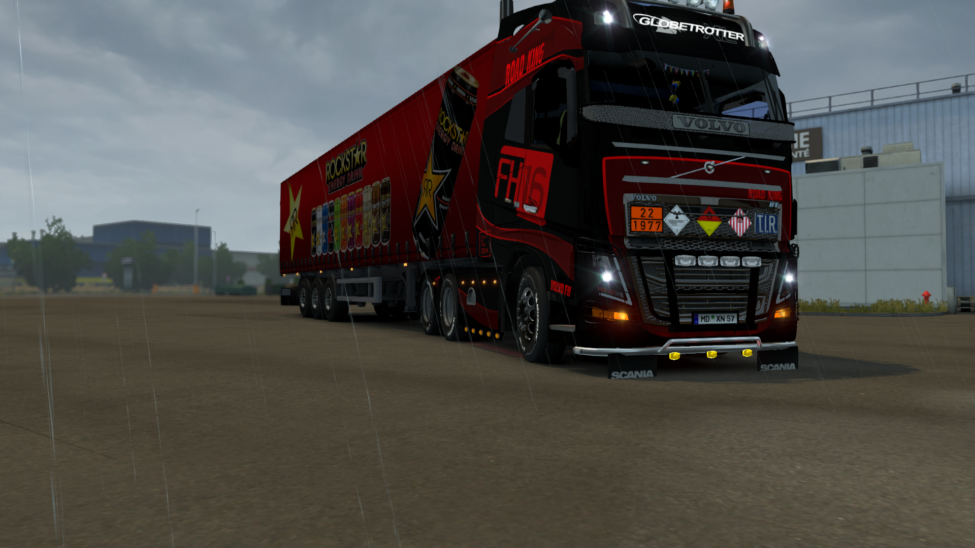 ets2_00005.png - Euro Truck Simulator 2 Europa, Volvo FH16 2013, Грузовик, Трак