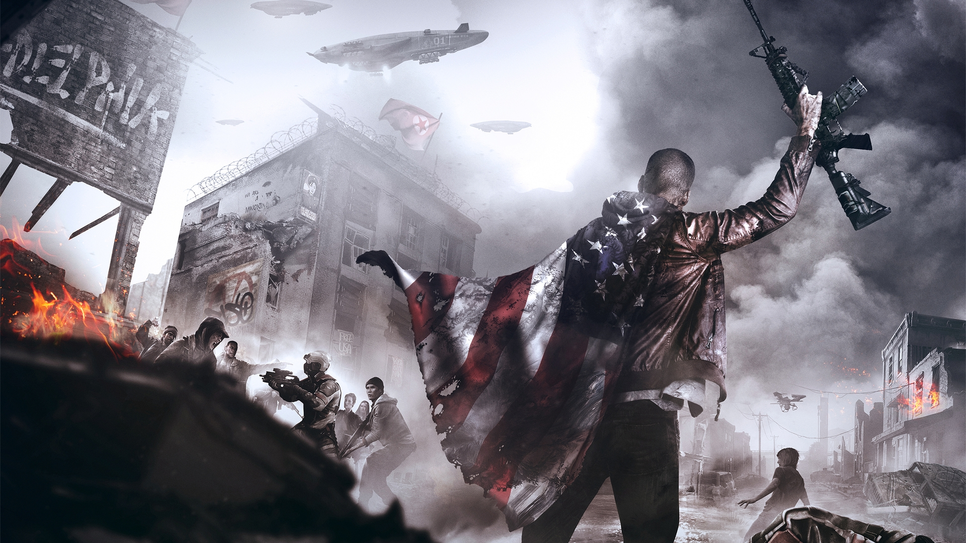 Повстанец - Homefront: The Revolution