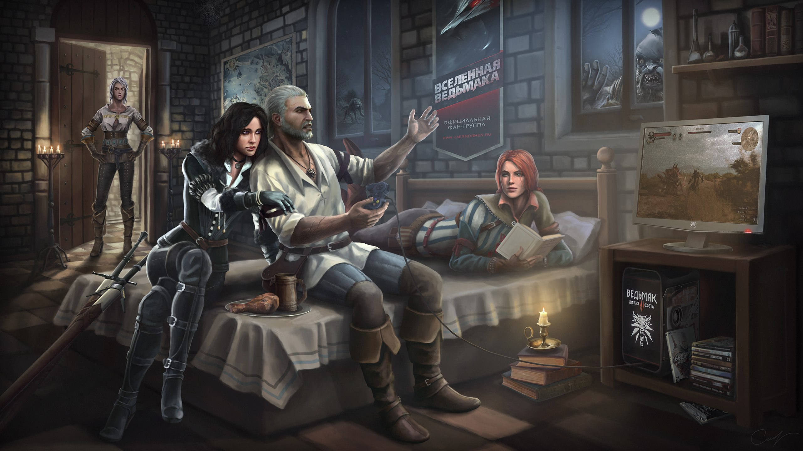 Witcher 3: Wild Hunt - Witcher 3: Wild Hunt, the Арт