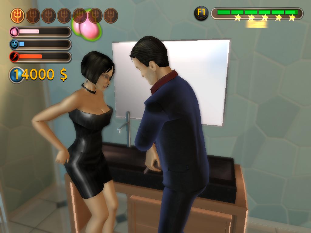 Threesome sim walk through