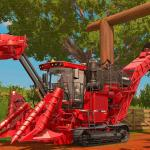 Farming Simulator 17 Тростниковый комбайн CASE IH A8800 MR в игре Farming Simulator 17