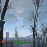 Fallout 4 UFO in Commonwealth