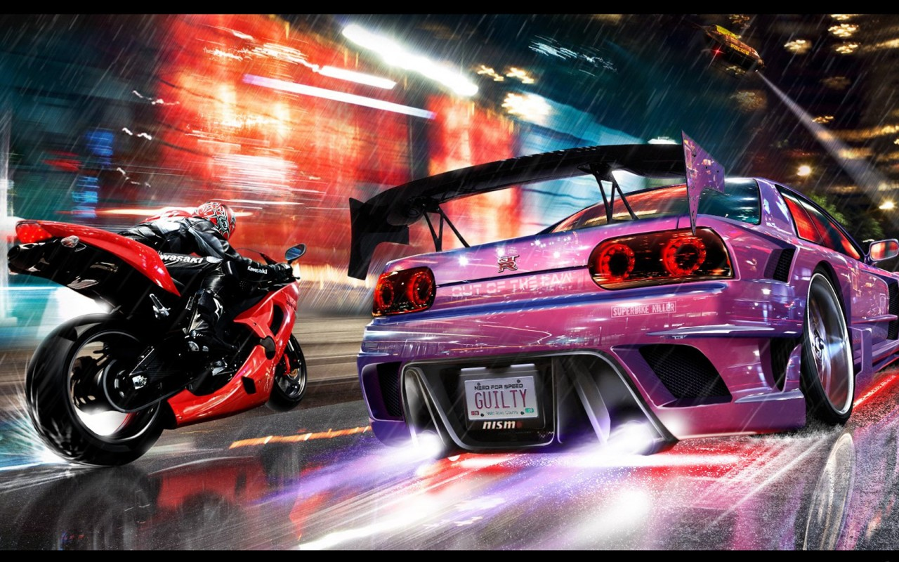 NFS - Avto - Need for Speed: Carbon