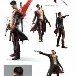 DmC: Devil May Cry Art