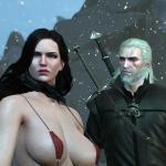 Witcher 0: Wild Hunt Yennefer