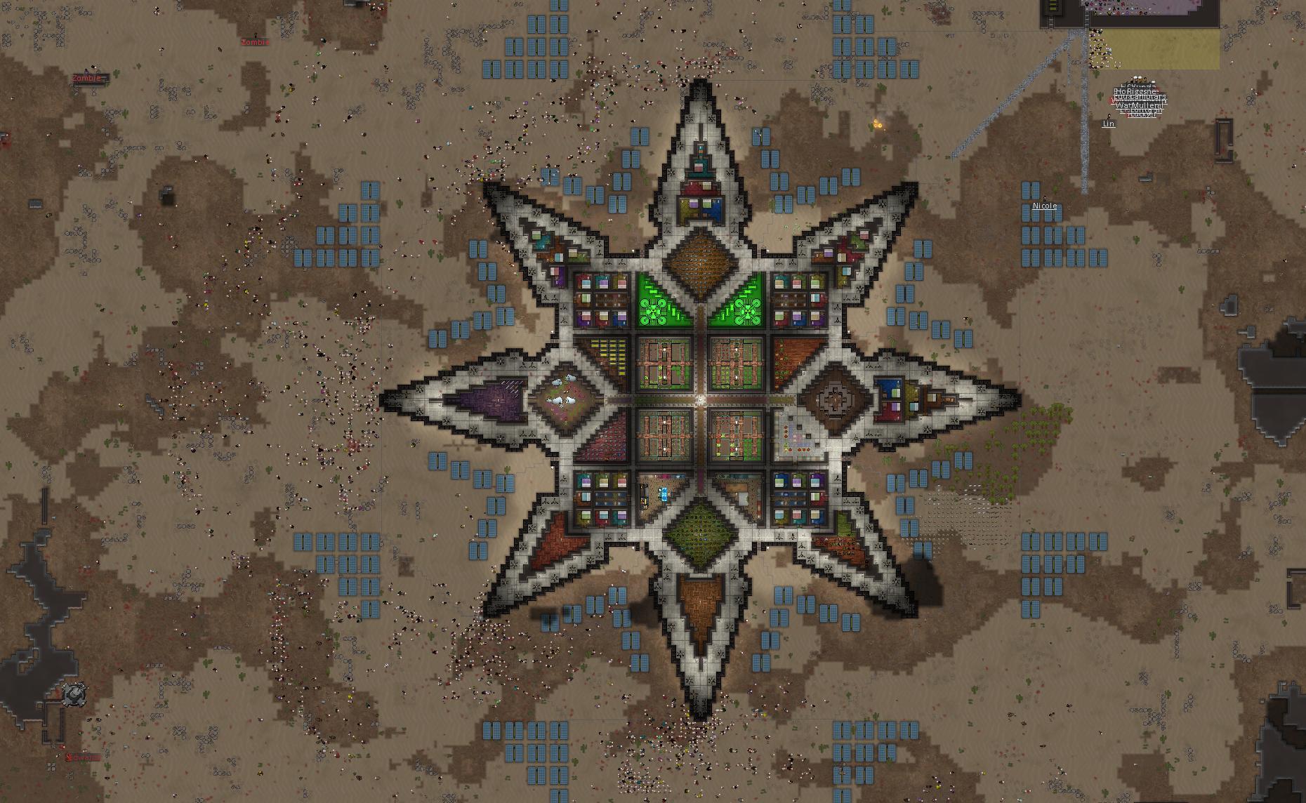 колония в Rimworld