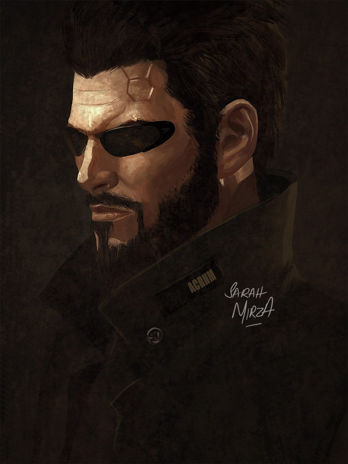 Deus Ex - Deus Ex: Mankind Divided art