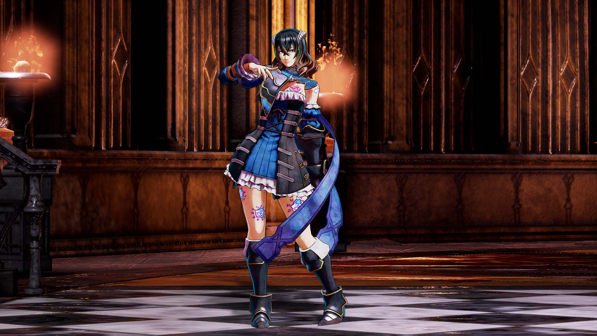 Bloodstained: Ritual of the Night - Bloodstained: Ritual of the Night Скриншот