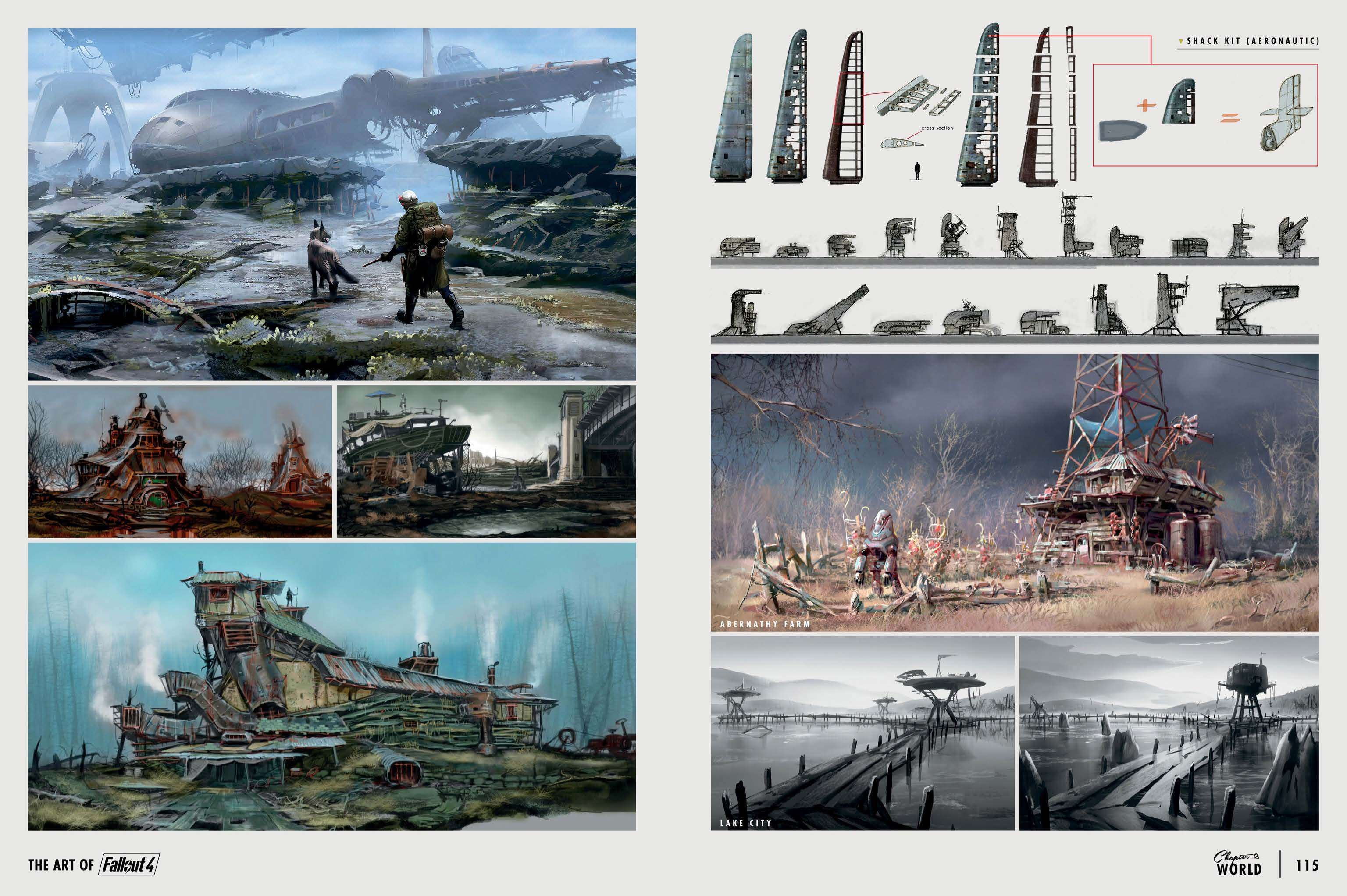 The Art of Fallout 4 - # 058 - Fallout 4 Art, ArtBook, Arts, арт, арты