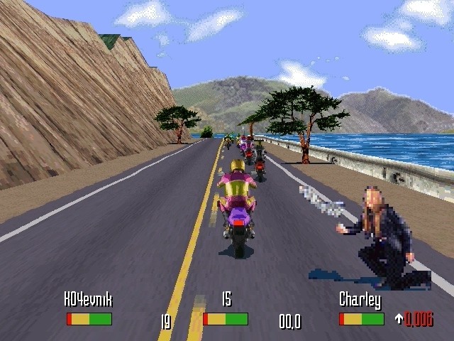 START!!!.jpg - Road Rash PC, Windows 95, байк, мотоциклы