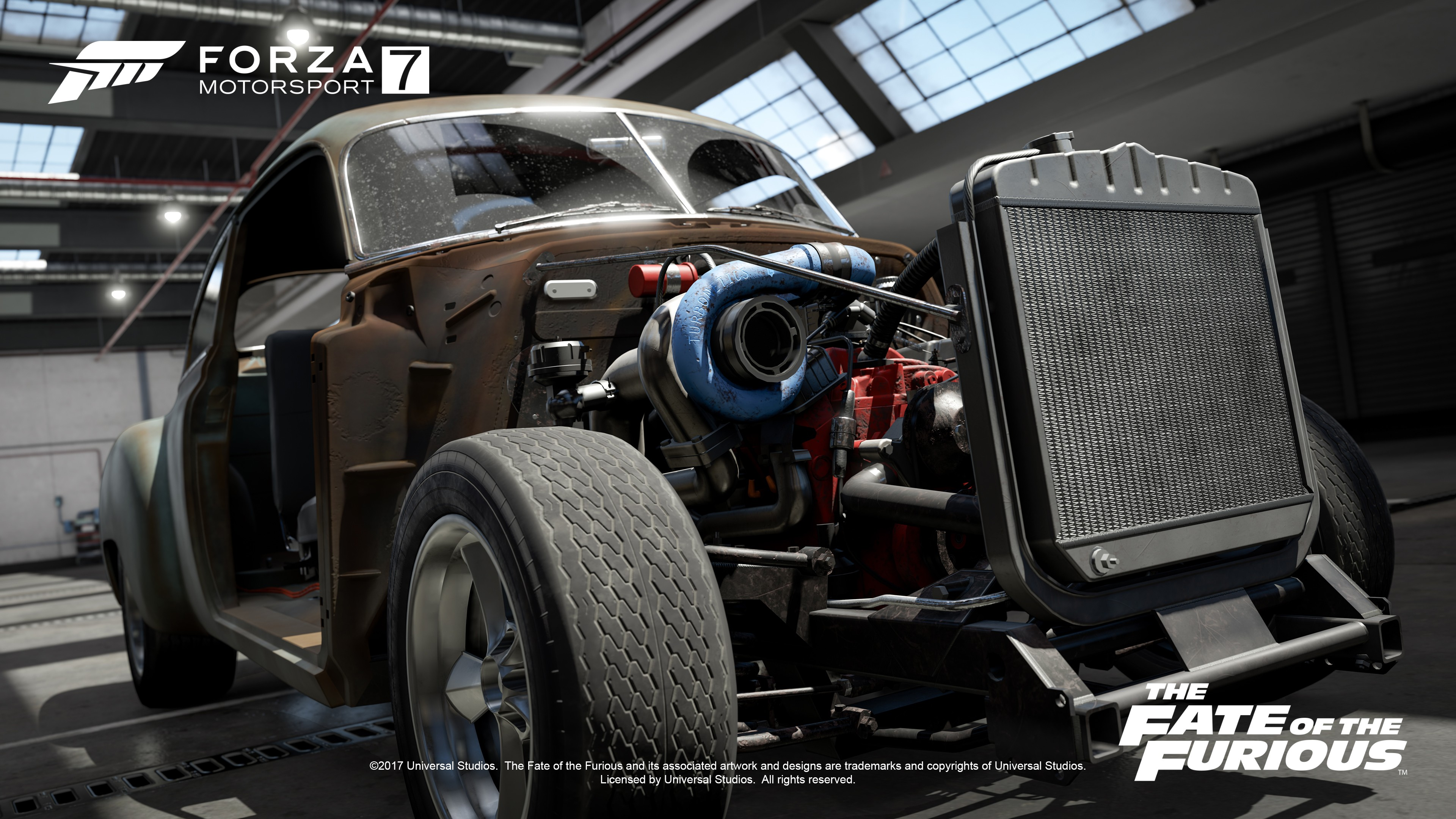 - - Forza Motorsport 7 4K, The Fate of the Furious, The Fate of the Furious Car Pack, Скриншот, Форсаж