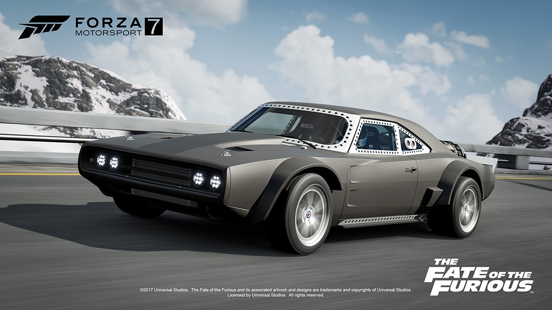 The Fate of the Furious Car Pack - Forza Motorsport 7 4K, Скриншот, Форсаж