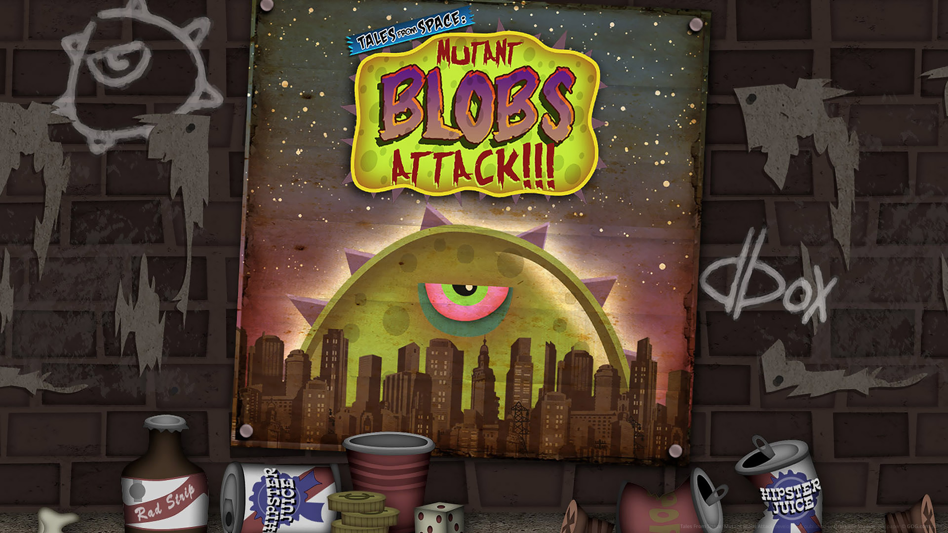 art - Tales from Space: Mutant Blobs Attack