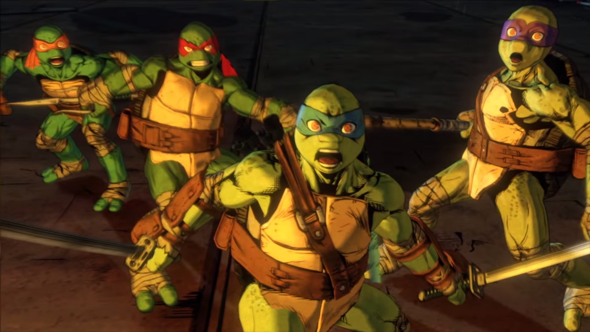 art - Teenage Mutant Ninja Turtles: Mutants in Manhattan