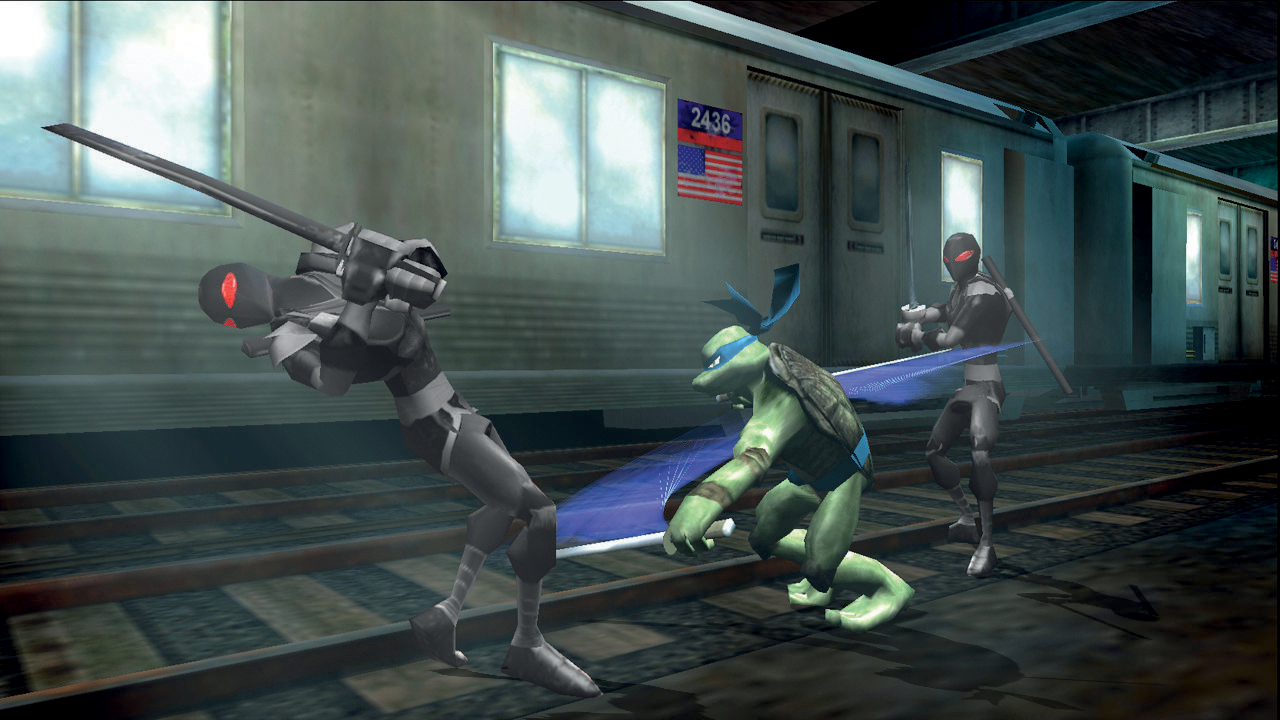 art - Teenage Mutant Ninja Turtles: Video Game
