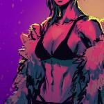 Hotline Miami Ninja Girl
