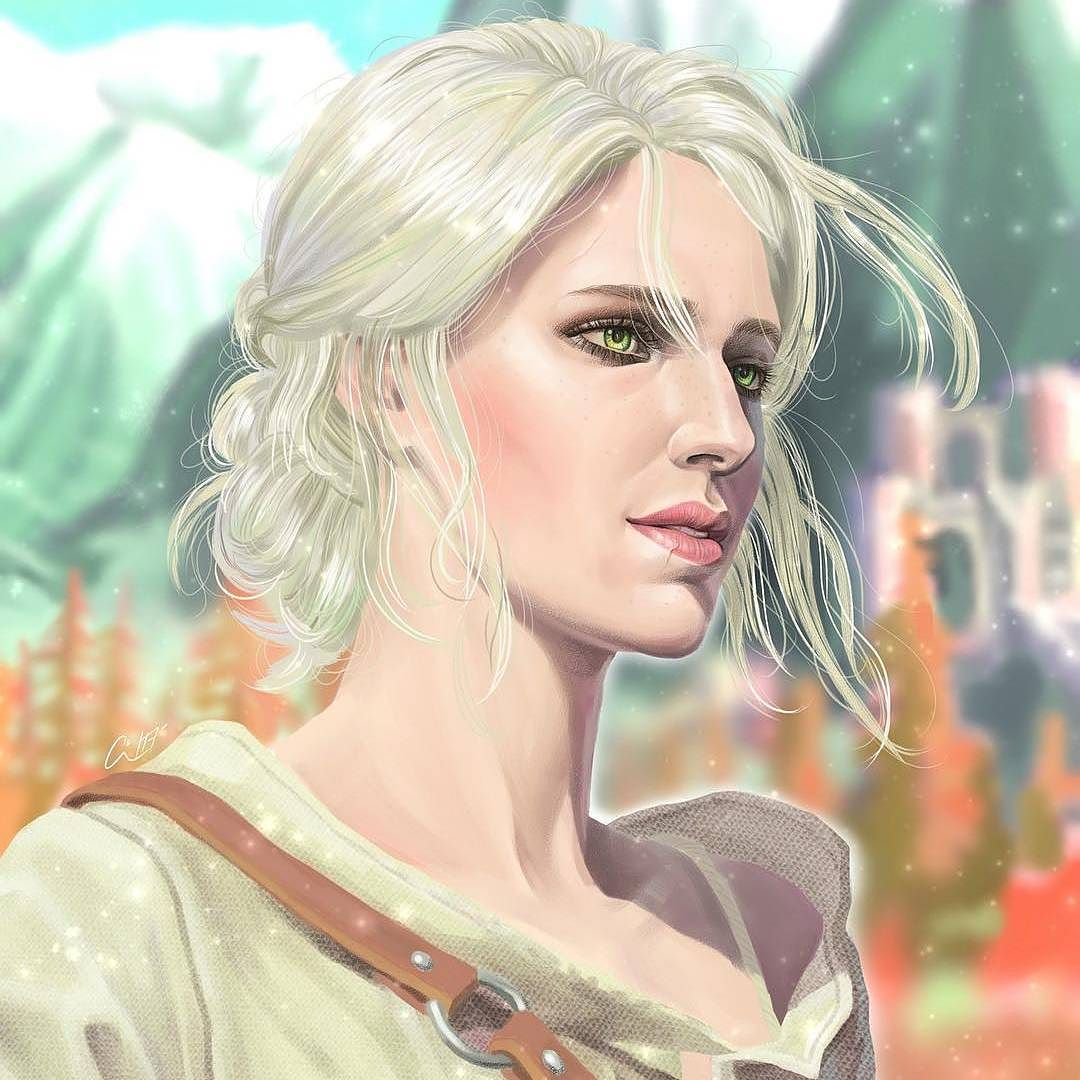 Цири - Witcher 3: Wild Hunt, the Персонаж