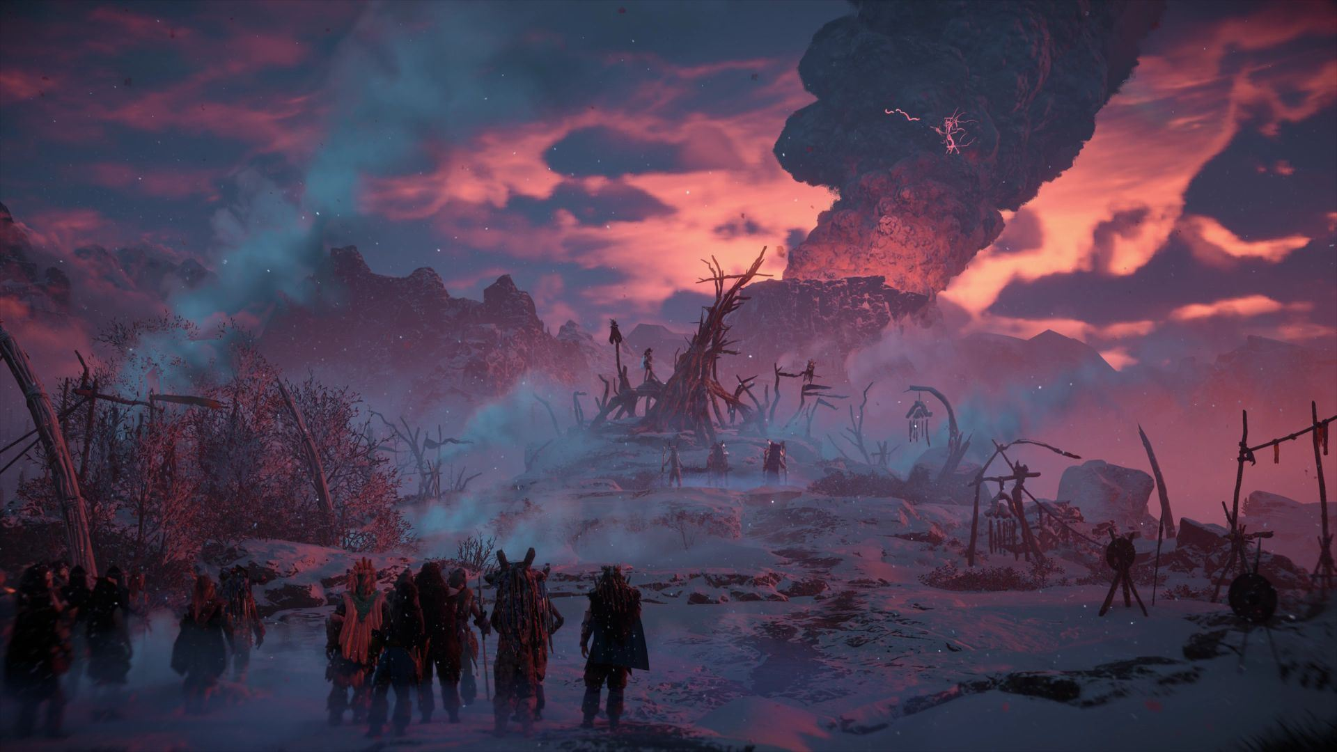 Horizon Zero Dawn: The Frozen Wilds - Horizon: Zero Dawn DLC, Скриншот