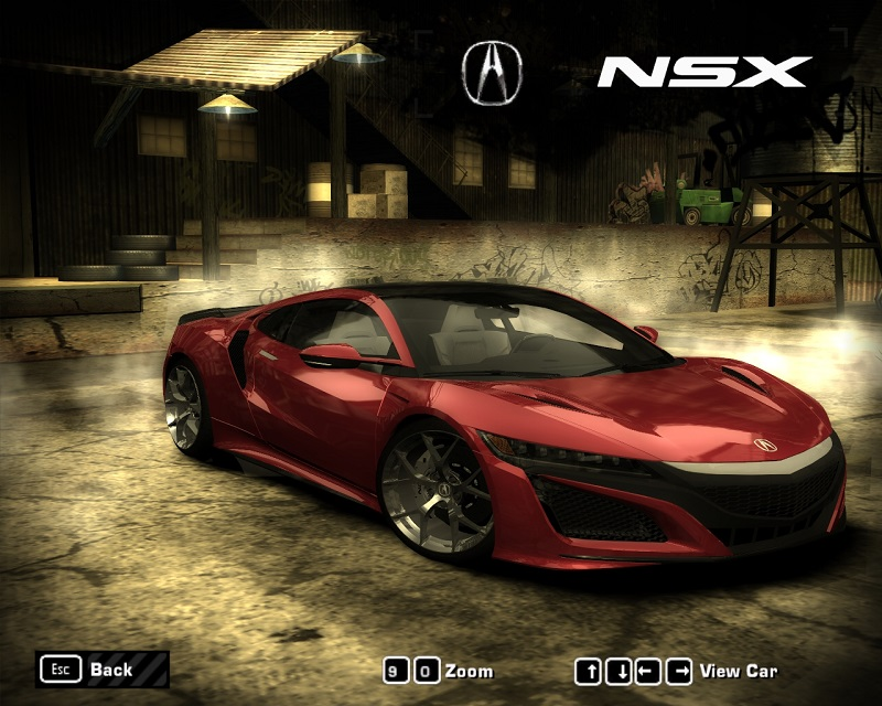 Acura NSX 2017.jpg - Need for Speed: Most Wanted (2005)