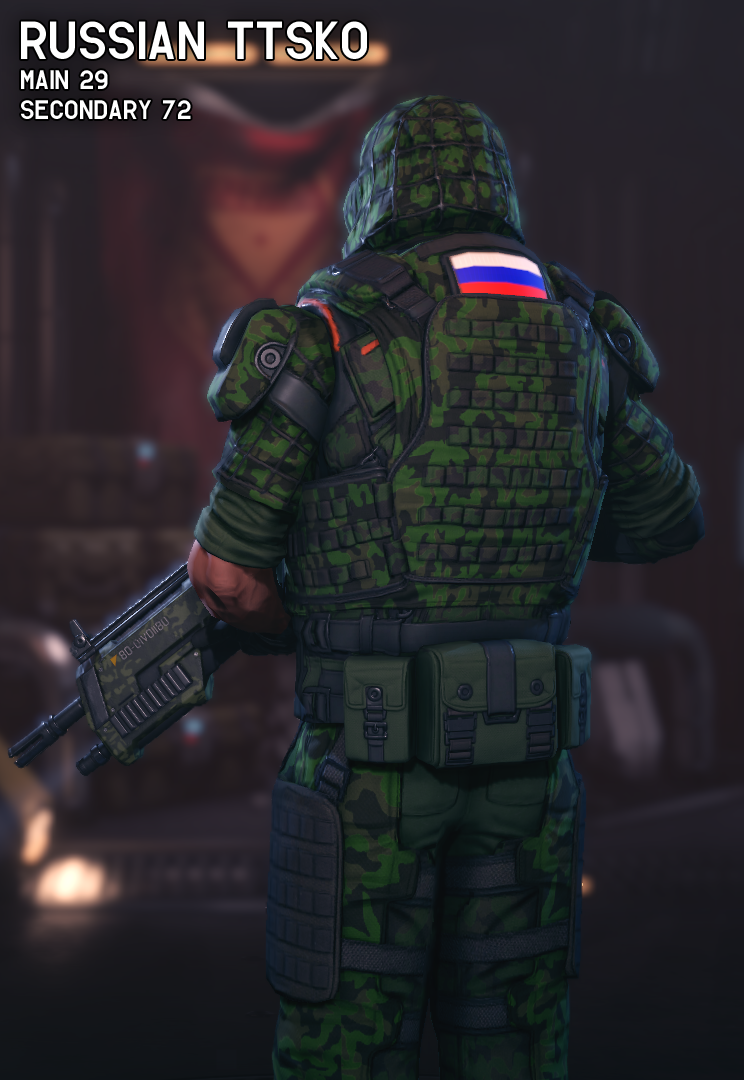 Military Camouflage Patterns - XCOM 2 Мод