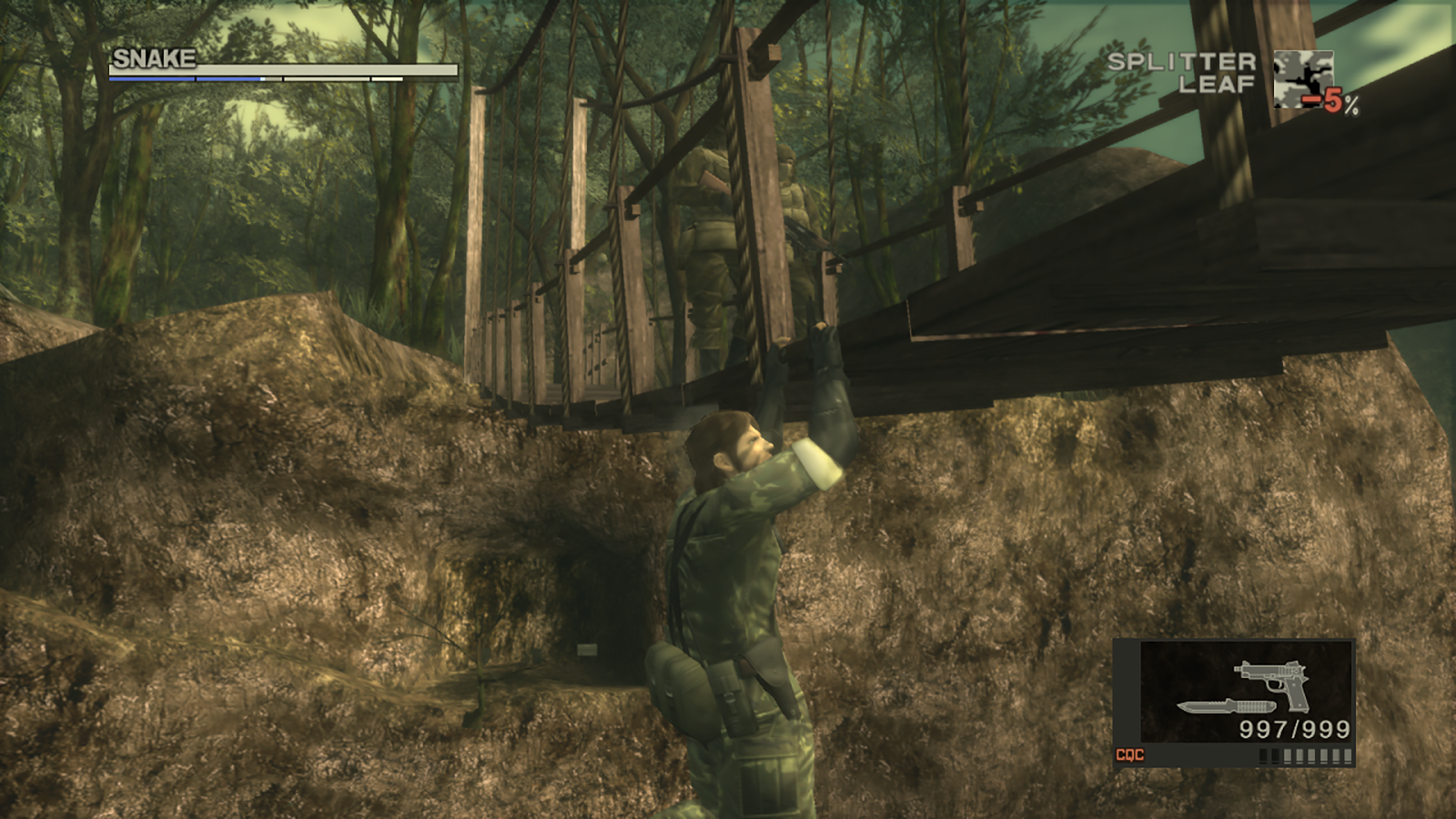 Metal Gear Solid 3: Snake Eater HD for SHIELD TV - Metal Gear Solid 3: Snake Eater Скриншот