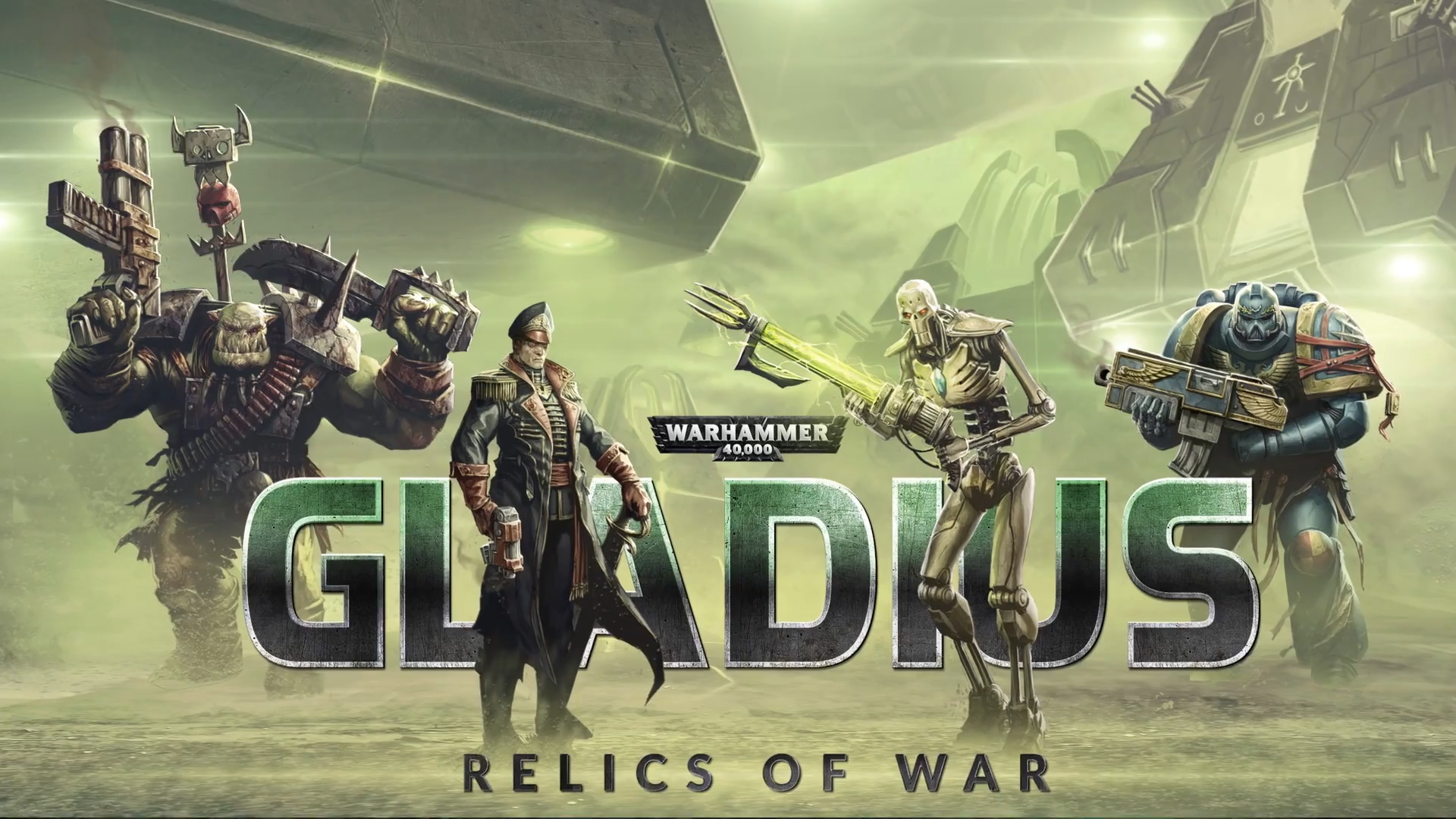 Relics of War - Warhammer 40.000: Gladius - Relics of War Скриншот