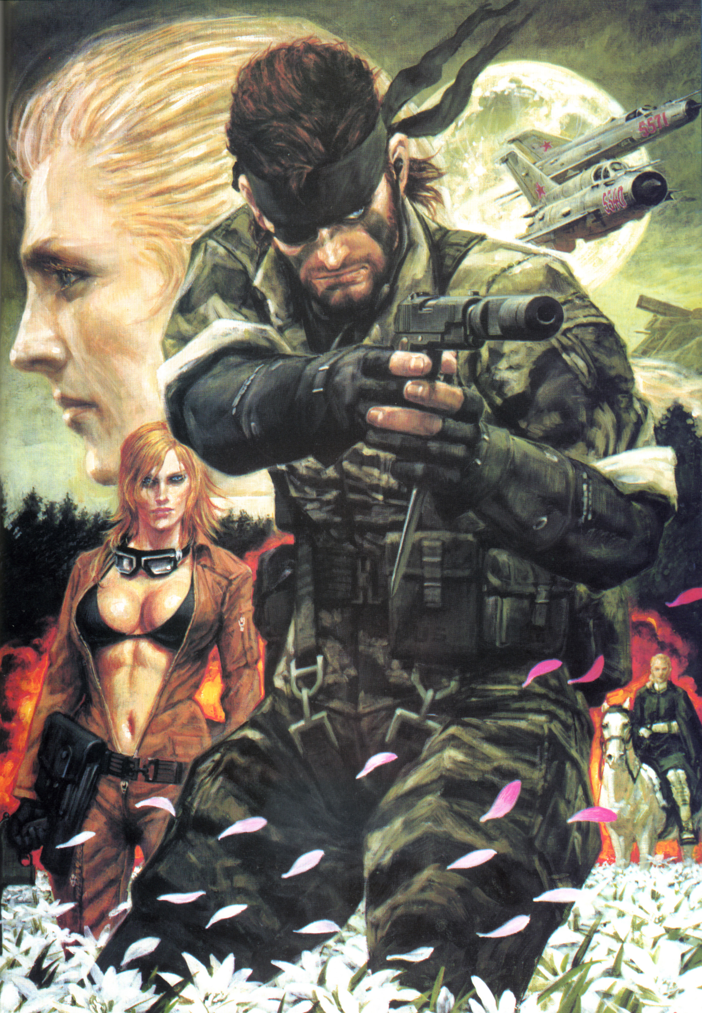 Arts - Metal Gear Solid 3: Snake Eater Big boss, Snake Eater, Арт