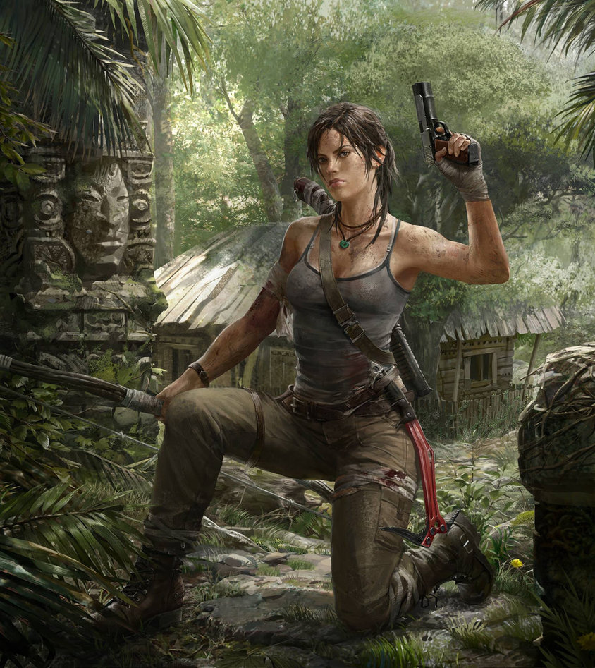 lara_in_the_forest_by_hdy9108-d5xgr60.jpg - Tomb Raider (2013)
