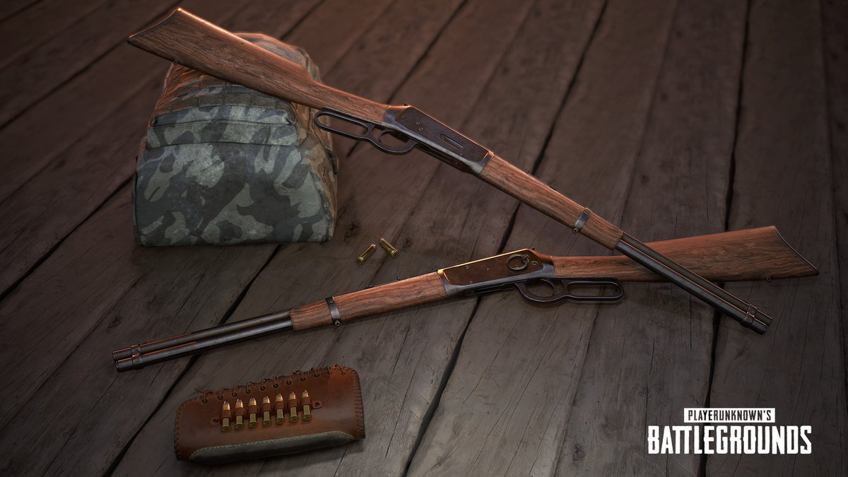 PlayerUnknown's Battlegrounds - Winchester Model 1894 - PlayerUnknown's Battlegrounds Арт, Рендер