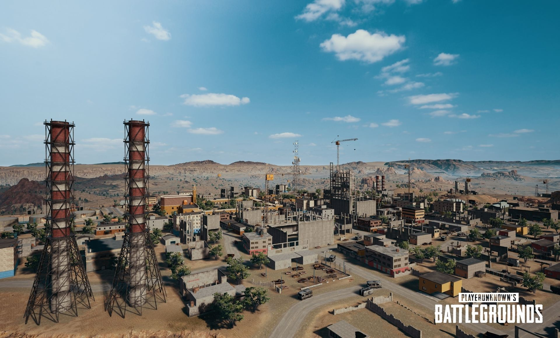 PlayerUnknown's Battlegrounds - карта Miramar - PlayerUnknown's Battlegrounds Арт, Скриншот