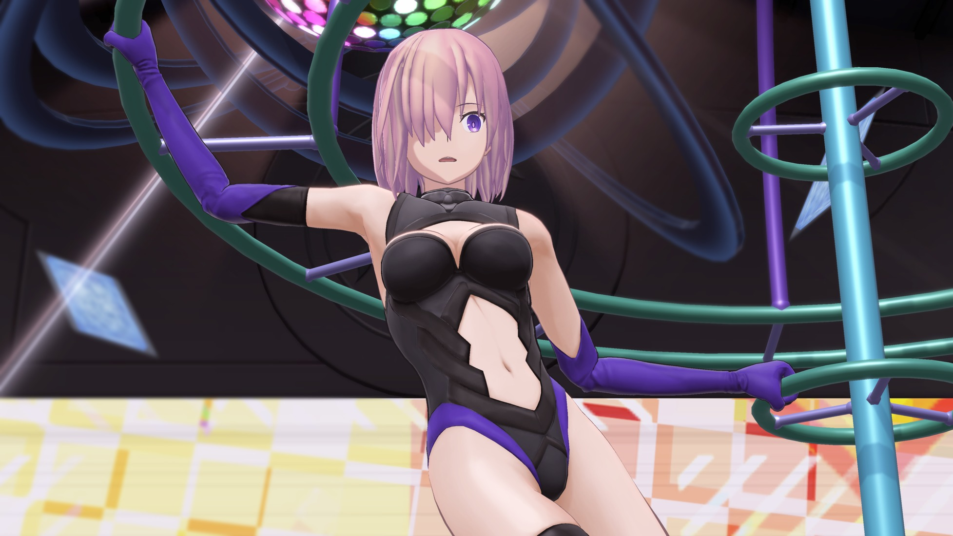 Fate/Grand Order VR Featuring Mashu Kyrielight - - Скриншот