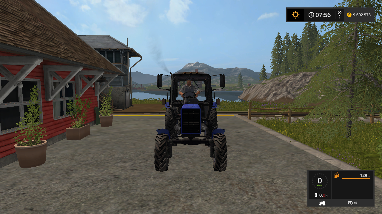 МТЗ 82 v 2.0 - Farming Simulator 17 Мод, Транспорт