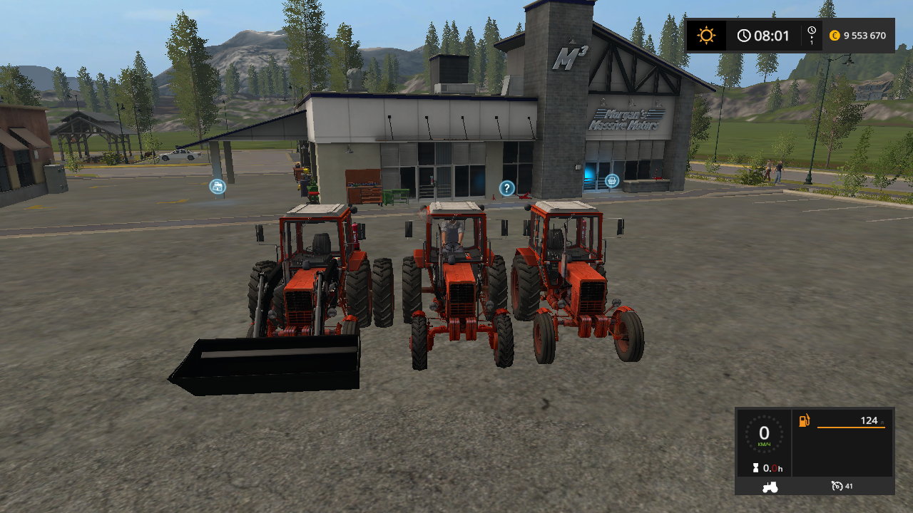 MTZ 80 AND 82 V1.3 - Farming Simulator 17 Мод, Транспорт