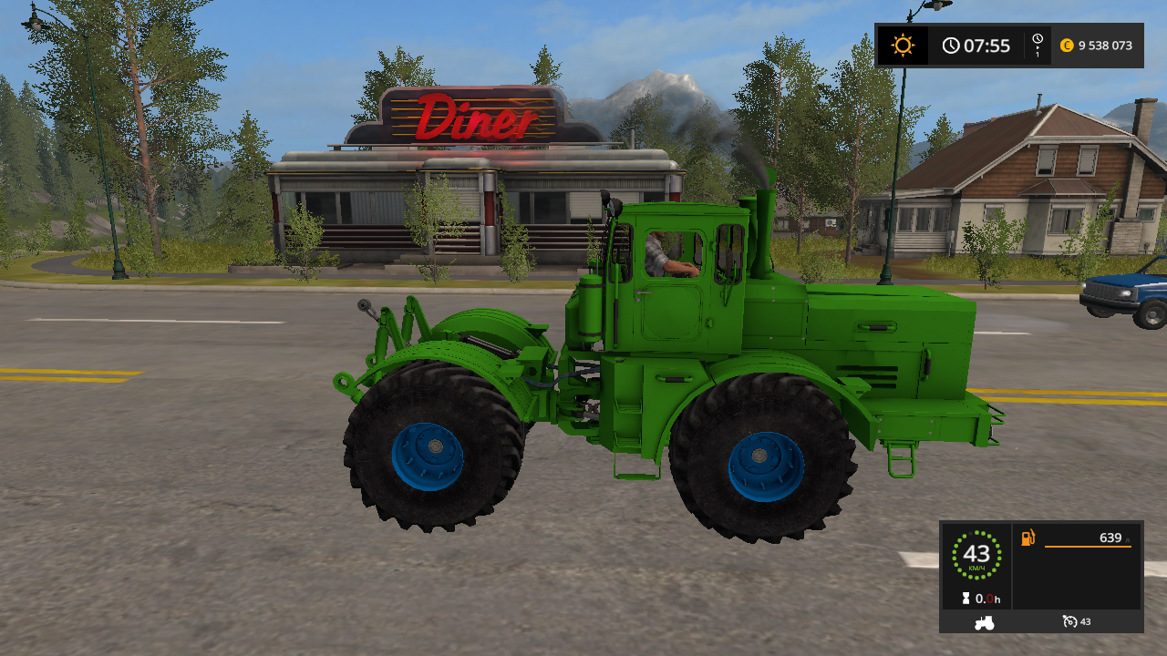 К-700 и 701 - Farming Simulator 17 Мод, Транспорт
