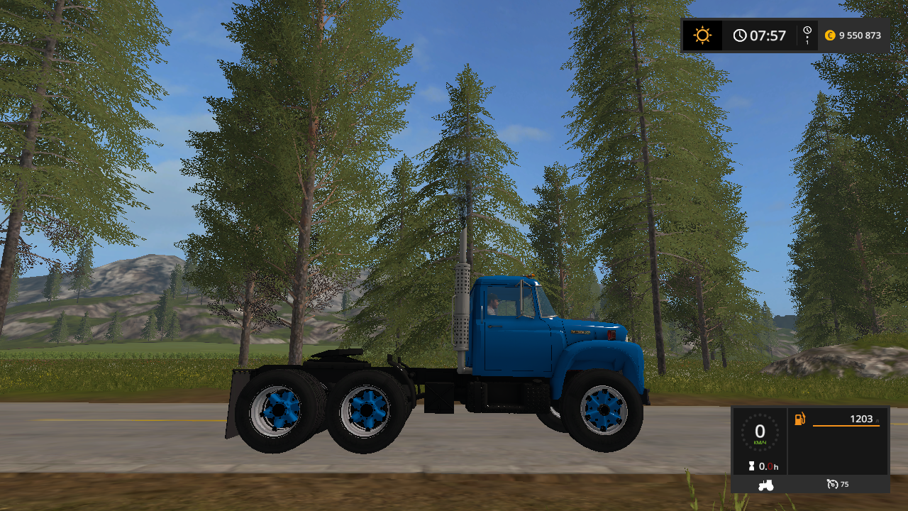 IH LOADSTAR 1850B V1.0 - Farming Simulator 17 Мод, Транспорт