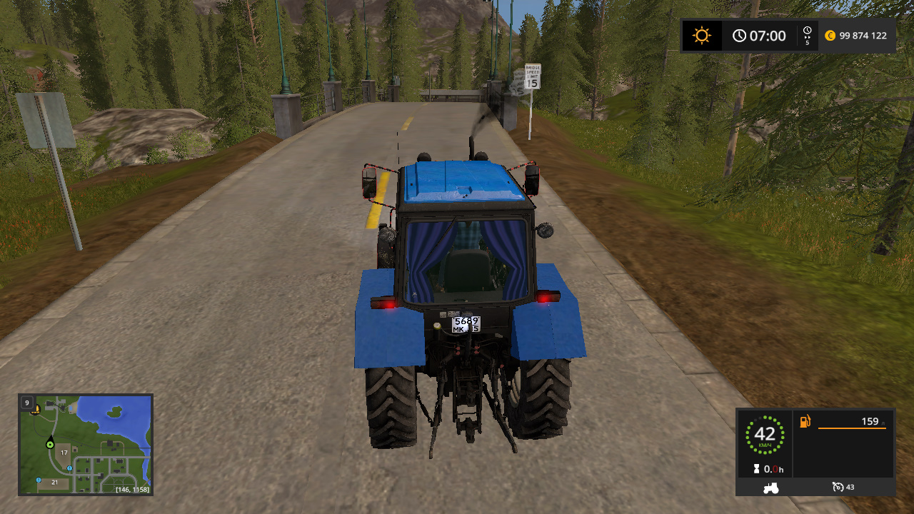 MTZ-1221 BELARUS BY CORAD60 - Farming Simulator 17 моды, Транспорт